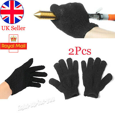 £2.91 • Buy 2Pcs Heat Resistant Gloves Curling Protective Heat Proof For Hair Straightener