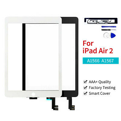 £16.99 • Buy For Apple IPad Air 2 Touch Screen Digitizer Front Glass Replacement+Genuine IC