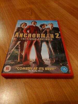 £2.50 • Buy Anchorman 2 The Legend Continues DVD
