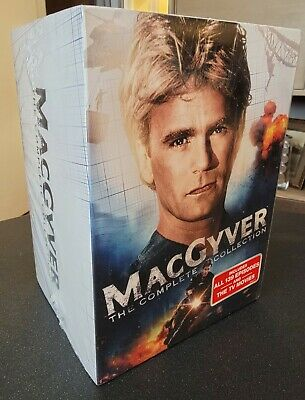 $85.44 • Buy MACGYVER: The Complete Series (DVD, 2015, 39-Disc Set)
