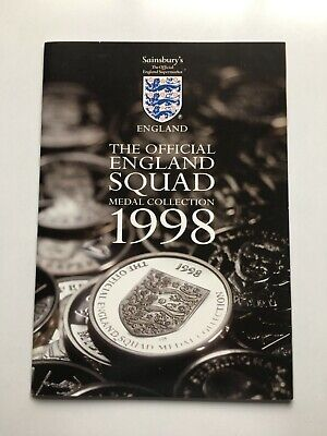 £4.99 • Buy Sainsbury's England World Cup 1998 Football Squad Medal Collection - Complete