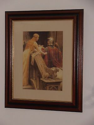 £40 • Buy Stunning Medieval Picture In A Beautiful Picture Frame.