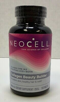 $11.99 • Buy NeoCell Collagen Beauty Builder, 150 Count, 08/2021, FREE SHIPPING