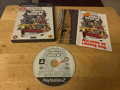 £4.90 • Buy Grand Theft Auto III 3 PS2 - Complete - PAL