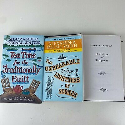 AU18.71 • Buy 3 Lot Alexander McCall Smith Hardcover / Paperback Books