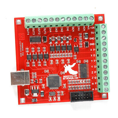 $28.25 • Buy CNC USB MACH3 Breakout Board 4 Axis Interface Driver Motion Controller US