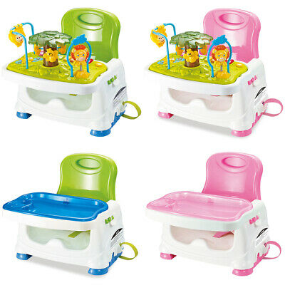 £27.99 • Buy 3 In1 Baby Activity Table Feeding Booster Seat Toddler Highchair Portable Travel