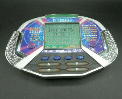 £5.99 • Buy 2000 Who Wants To Be A Millionaire Electronic Handheld Game Tiger Works W/Cartri