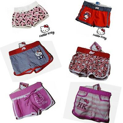 £5 • Buy Girls Shorts Hello Kitty Pink Red Summer Shorts Age 1y To 14y Brand New Tagged