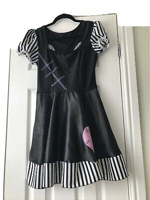 £4 • Buy Broken Doll Fancy Dress Ladies Womens Halloween Costume Outfit 8 10 Small S