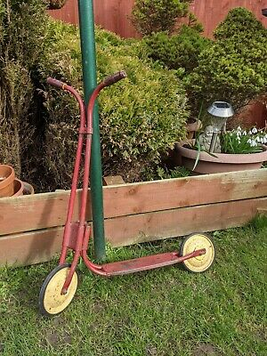 £10 • Buy Triang / Tri-ang Vintage Toddler's Scooter (red)