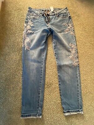 £10 • Buy Ladies Jeans NEXT  Relaxed Skinny Fit Size 10 Great Condition