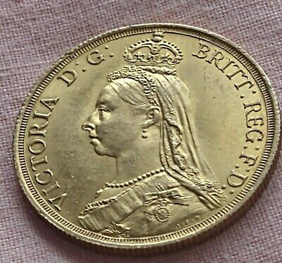 £980 • Buy 1887 Double Sovereign Gold Coin £2 Two Pounds Queen Victoria EF
