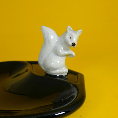 £22.93 • Buy Wade Whimsies (1987/88) Whimtray/Pin Tray Series (Black) Whimsieland Squirrel