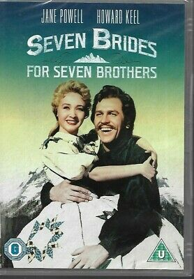 £3.45 • Buy Seven Brides For Seven Brothers:Howard Keel, Jane Powell,Russ Tamblyn (DVD,2001)