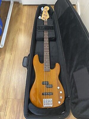 £700 • Buy Fender Deluxe Active P Bass Special In Natural Okoume