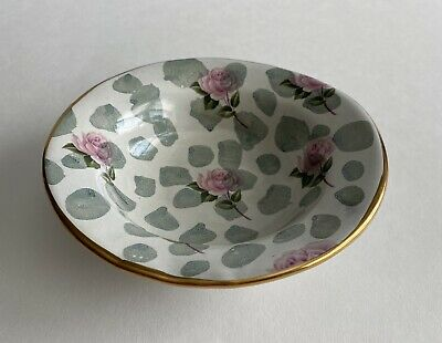 $34 • Buy Mackenzie-childs Small Bowl Roses 5 5/8 In. Wide