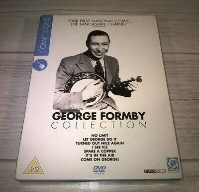 £14.99 • Buy George Formby Collection No Limit I See Ice 4 Disc Box Set Genuine R2 DVD VGC