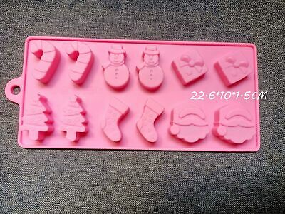 £2.69 • Buy 3D Silicone Cake Chocolate Mould Candy Mold Snap Wax Melt Candle Ice Jelly UK