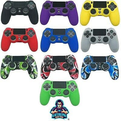 AU7.82 • Buy Texture Silicone Rubber Case Grips Protect Cover Skin For PS4 Controller By EGP