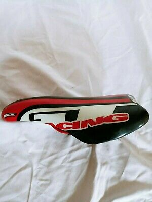 $150 • Buy GT Racing - BMX Saddle - Viscount Seat - Mid Old School - Red  Black White