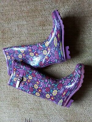 £2.70 • Buy Ladies Wellies Size 5 Pretty Floral