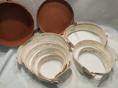 $25 • Buy Lot Of 9 Antique Starched Detachable Collars Size 16
