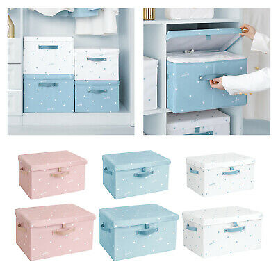 £18.79 • Buy Under Bed Storage Box W/ Lids Shoes Clothes Basket Container Toys Organizer