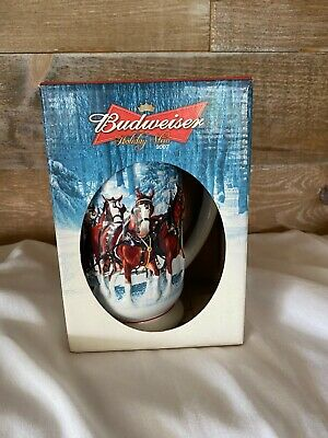$ CDN69 • Buy Budweiser Holiday Beer Stein 2007 Winters Calm Collectible