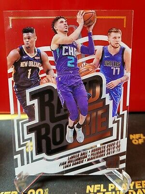 $479.99 • Buy 2020 Clearly Donruss Rated Rookie Lamelo Ball Luka Doncic & Zion Williamson Ssp