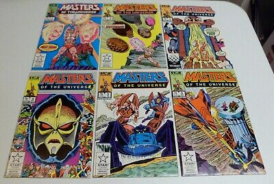 $32 • Buy Masters Of The Universe #1 #2 #3 #4 #5 #6 - Lot Of 6 Star / Marvel Comics 1986