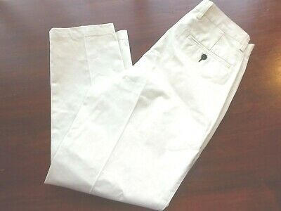 $12.50 • Buy Mens ORVIS Beige Pants Cotton Casual Chino Size 32 X 30