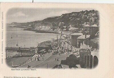 £1.99 • Buy A Isle Of Wight England Old Antique Postcard English Ventnor