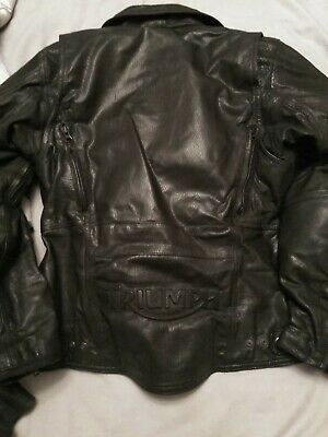 £60 • Buy Truimph Ladies Leather Jacket Size Small And Lewis Ladies Leather Trousers...