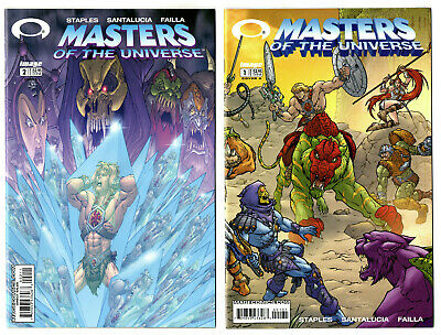 $19.99 • Buy Masters Of The Universe #1-4 Complete (2002) Image VF+ To VF/NM
