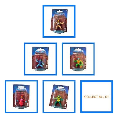 $13.99 • Buy Masters Of The Universe Micro Collection 5 Figure Set Skeletor He-Man Orko Lot
