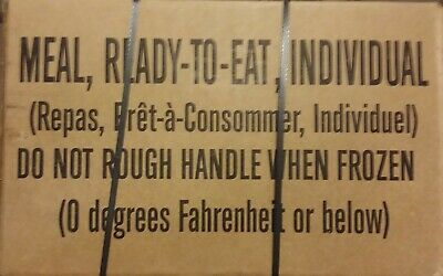 $109.95 • Buy MRE Case A: 03-2023 Inspection Date Military USGI Meals Ready To Eat