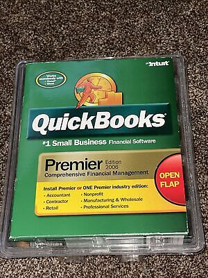 £130.66 • Buy Intuit Quickbooks Premier 2006 (Windows) Small Business Financial Software