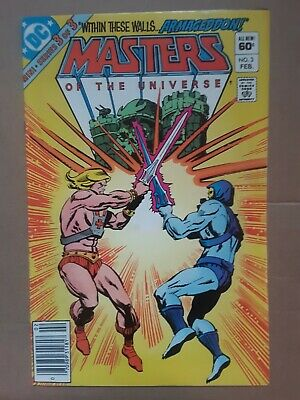 $49.99 • Buy Masters Of The Universe #3  HE-MAN Newsstand DC Comic 1 Book Lot 1982