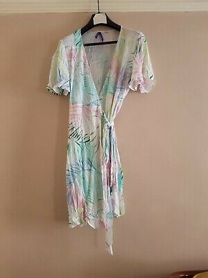 £4 • Buy Seraphine Floral Summer/beach Wrap Dress.size 12