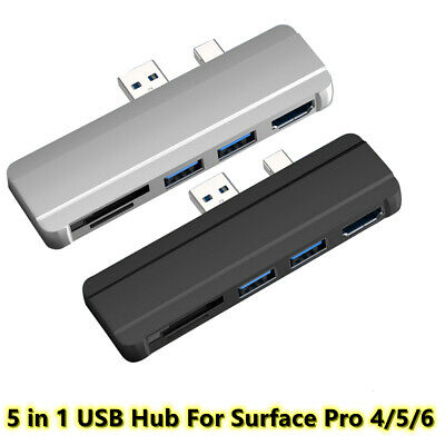 AU25.19 • Buy USB 3.0 Micro SD SDHC Hub DP To HDMI Converter Adapter For Surface Pro 4/5/6
