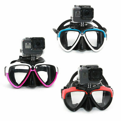 AU23.79 • Buy Anti-Fog Swimming Goggles Diving Scuba Snorkel Glasses For GoPro 9 8 Osmo Action