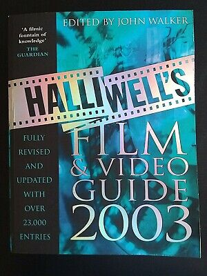 £2.92 • Buy Halliwell's Film And Video Guide 2003