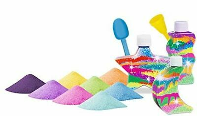 £7.19 • Buy Sand Art Kit Glitter And Glow In The Dark Three Bottle Set With 8 Colours