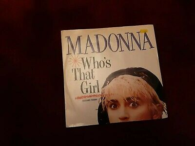 £3 • Buy Who's That Girl Madonna 12  Vinyl Single Record (Maxi) UK W8341T SIRE 1987