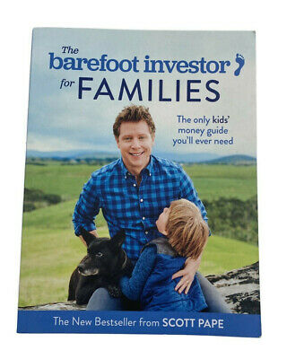 AU19.99 • Buy The Barefoot Investor For Families: How To Teach Your Kids The Value Of A...