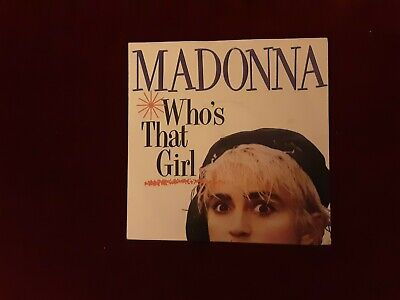 £3 • Buy Madonna 7inch Single Who's That Girl Sire W8341 Picture Sleeve Vg Condition