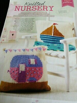£0.75 • Buy Knitted Nursery Cushion Knitting Pattern By Sian Brown