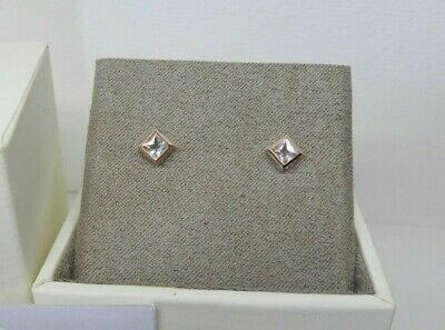 £45 • Buy Clogau Gold Silver & Rose Gold Welsh Royalty Stud Earrings RRP £79