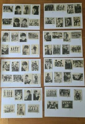 £23.50 • Buy THE BEATLES (1st Series) Full Set Of 60 A & B.C. Chewing Gum Cards.